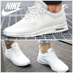 Nike Air Max Thea All white womens 7 running shoes